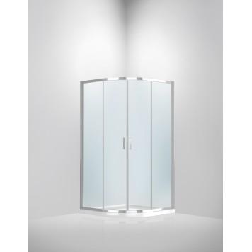 Душевая кабина Dusel А-511 100х100х190 стекло прозрачное без поддона