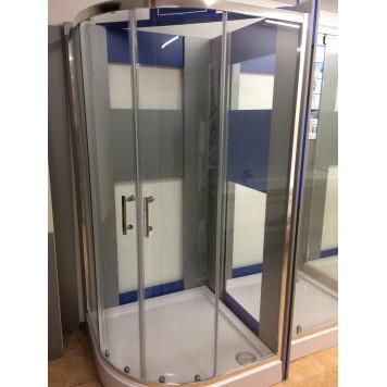 Душевая кабина Dusel А-511 80х80х190 стекло прозрачное без поддона-5
