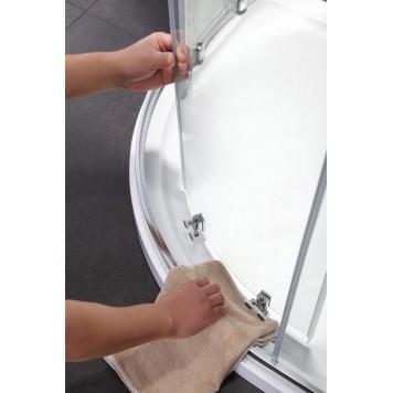 Душевая кабина Dusel А-511 90х90х190 стекло шиншиллах без поддона-2