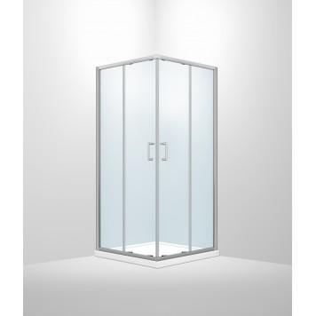 Душевая кабина Dusel А-513 100х100х190 стекло прозрачное без поддона