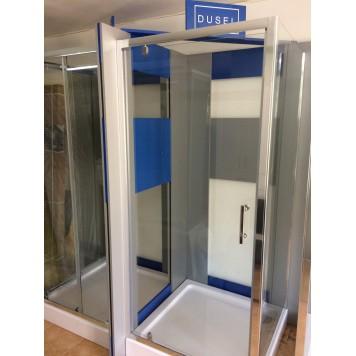 Душевая кабина Dusel А-516 100х100х190 стекло прозрачное без поддона-2