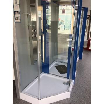 Душевая кабина Dusel А-715 100х100х190 стекло прозрачное без поддона-3
