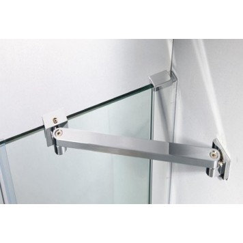 Душевая кабина Dusel А-715 90х90х190 стекло прозрачное без поддона-1