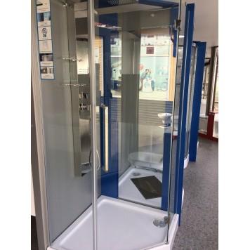 Душевая кабина Dusel А-715 90х90х190 стекло прозрачное без поддона-3