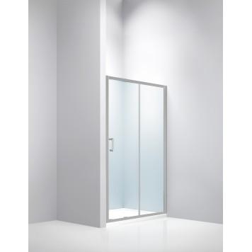 Душевая дверь Dusel FА-512, 140 см, стекло прозрачное