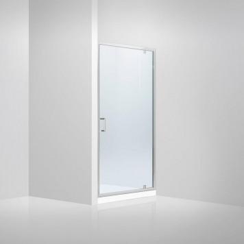 Душевая дверь в нишу Dusel FА-516, 90 см, стекло прозрачное