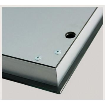 Зеркало DUSEL LED DE-M1091 100х75 с часами и Bluetooth-5