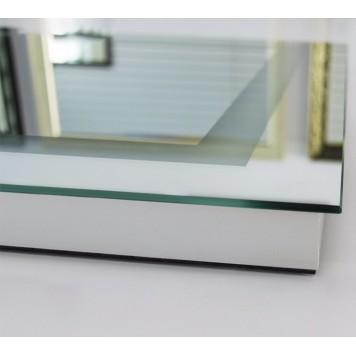 Зеркало DUSEL LED DE-M1091 100х75 с часами и Bluetooth-1