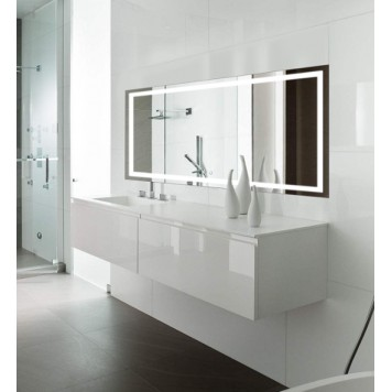 Зеркало DUSEL LED DE-M1091 90х70-3