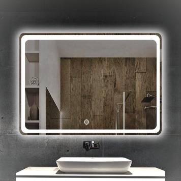 Зеркало DUSEL LED DE-M3051 90х70-2