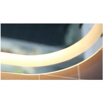 Зеркало DUSEL LED DE-M4031 120х60 с часами-1