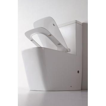 Унитаз-компакт с сиденьем Slim Soft-Close DUSEL IVIA DTPT10210330R-2