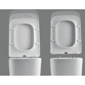 Унитаз-компакт с сиденьем Slim Soft-Close DUSEL CUBIS DTPT10201030R-3
