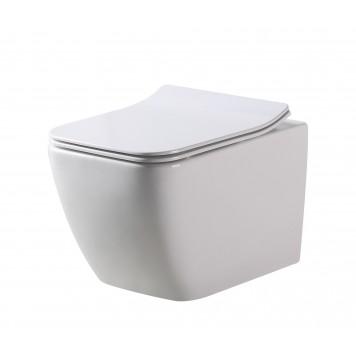 Унитаз с сиденьем Slim Soft-Close DUSEL CUBIS DWHT10201030R