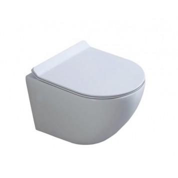 Унитаз с сиденьем Slim Soft-Close DUSEL LEVITA DWHT10201130R
