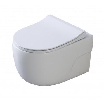 Унитаз с сиденьем Slim Soft-Close DUSEL VORTEX DWHT10201230R