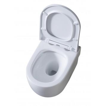 Унитаз с сиденьем Slim Soft-Close DUSEL VORTEX DWHT10201230R-1