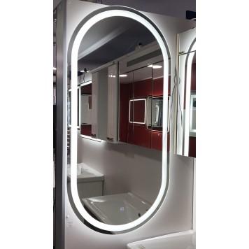 Зеркало DUSEL LED DE-M4031 120х60 с часами-7