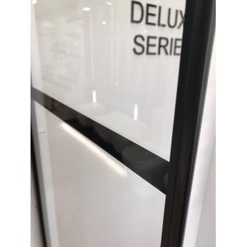 Душевая кабина Dusel DL197HBP Black Matt Paint 100х100х190 без поддона-3