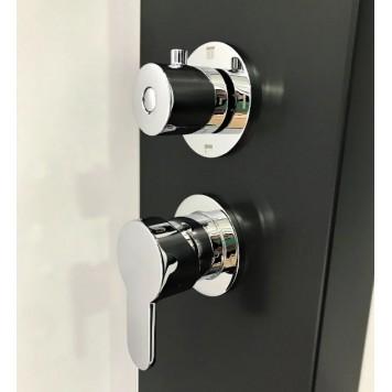 Гидромассажная панель Dusel DU8815B-00 Black Matt-2