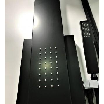 Гидромассажная панель Dusel DU2018-AB Black Matt-2