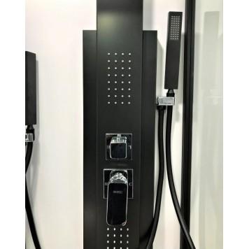 Гидромассажная панель Dusel DU2018-AB Black Matt-3