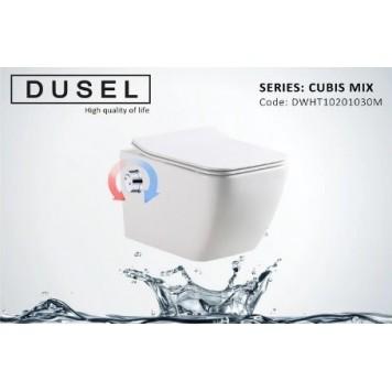 Унитаз-биде с сиденьем Slim Soft-Close DUSEL CUBIS Mix DWHT10201030М-2