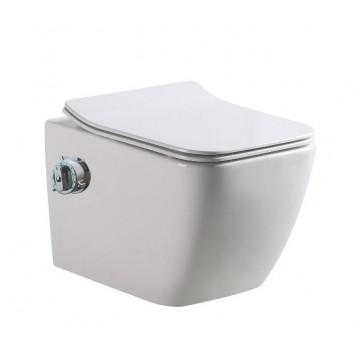 Унитаз-биде c термостатом и с сиденьем Slim Soft-Close DUSEL CUBIS Termix DWHT10201030ТМ