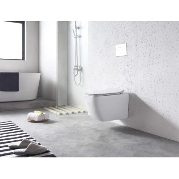 Унитаз-биде c термостатом и с сиденьем Slim Soft-Close DUSEL CUBIS Termix DWHT10201030ТМ-4