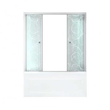 Душевая штора Triton стекло Узоры 170-1