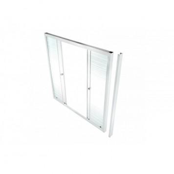 Душевая штора Triton стекло Полосы 150-2