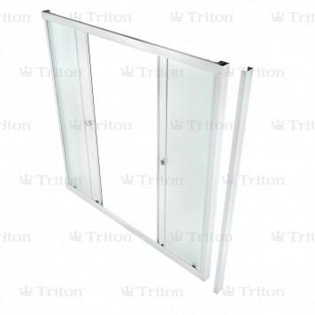 Душевая штора Triton стекло Эко 150-1