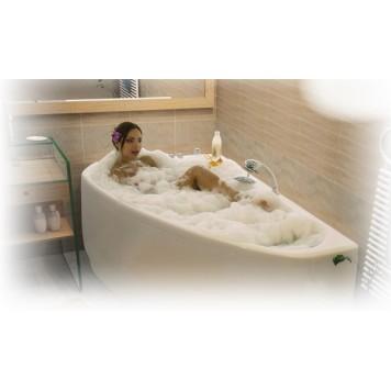 Акриловая ванна Triton Пеарл-шелл (левая) 160x104-5