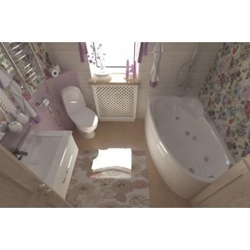 Акриловая ванна Triton Николь (правая) 160x100-5