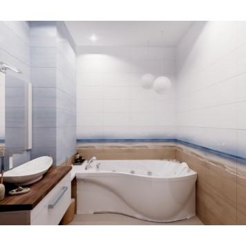 Акриловая ванна Triton Мишель (левая) 170x96-2