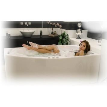 Акриловая ванна Triton Скарлет (левая) 167x96-1