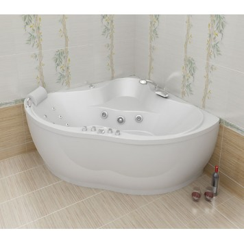 Акриловая ванна Triton Медея 142x142-1