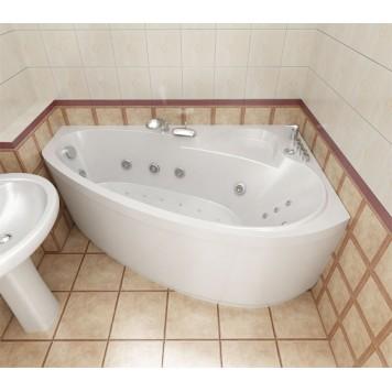 Акриловая ванна Triton Пеарл-шелл (левая) 160x104-4