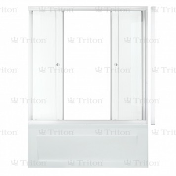 Душевая штора Triton стекло Эко 150