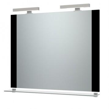 Зеркало 'Ника-100' (черное) с подсветкой