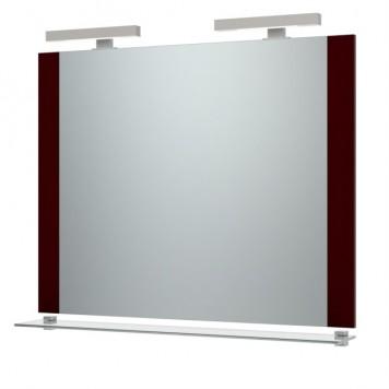Зеркало 'Ника-120' (вишня) с подсветкой